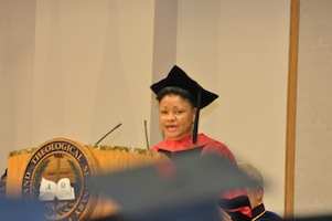 Mitzi Smith at Ashland Theological Seminary graduation